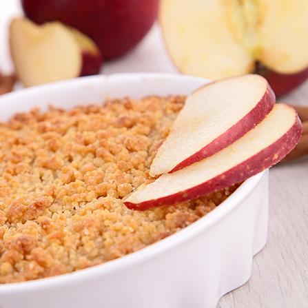 croustade pommes